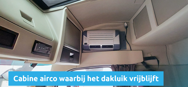De cabine airco voor vrachtwagens