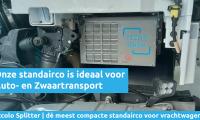 Compacte standairco voor auto- en zwaartransport